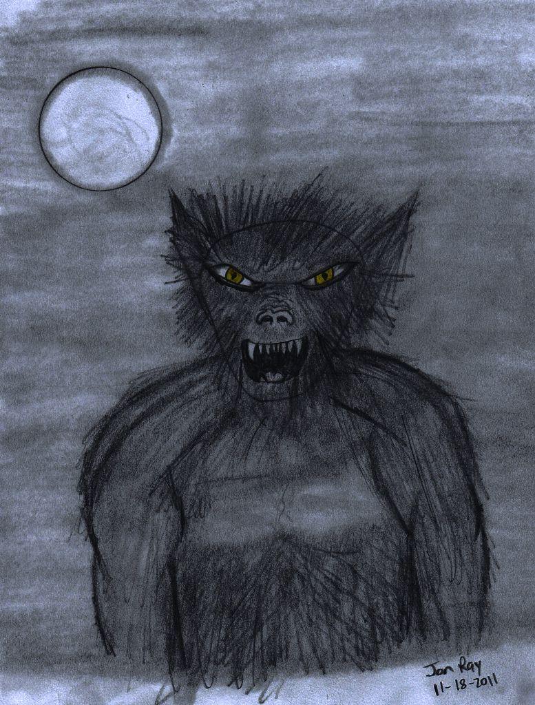 Half Man Half Wolf Drawing - photo#36