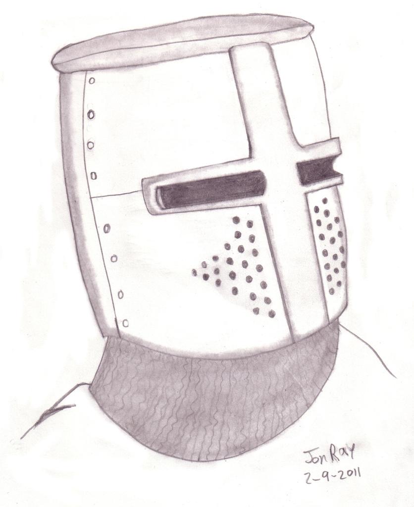 Jon Ray » medival helmet